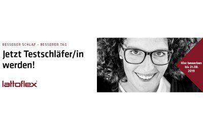 Betten Nordheim sucht gemeinsam mit Lattoflex eine/n Testschläfer/in!