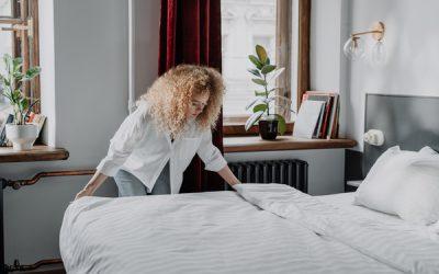 Wie oft sollte man seine Bettwäsche wechseln?